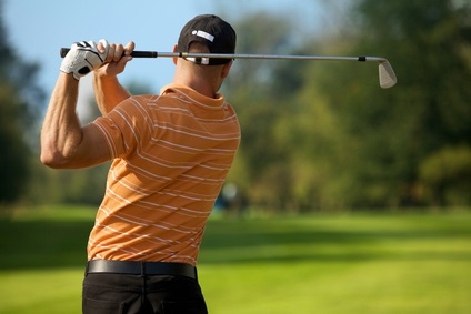 Golf swing linked to lower back injury