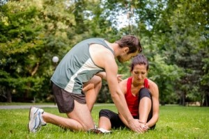 Ankle sprain a common injury