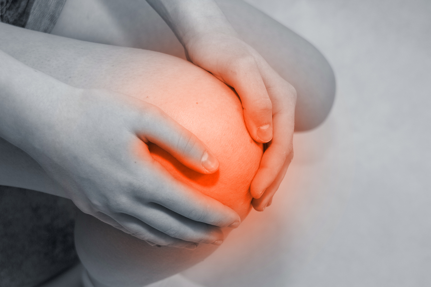 how to get calcium out of knee for arthritis
