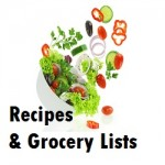 Recipes and Grocery Lists