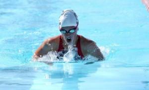 College Swimmer