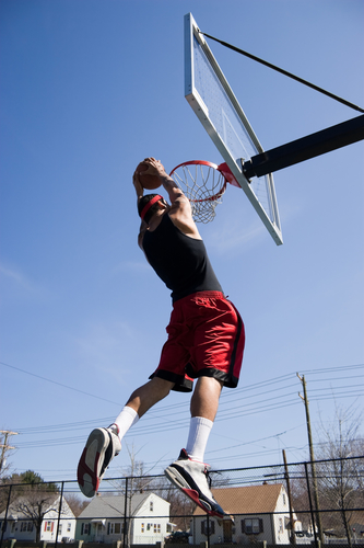 ACL injuries in non-contact sports like basketball