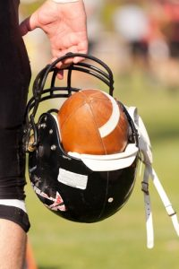 head Injuries in football players include Chronic traumatic encephalopathy