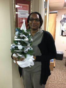 Christmas Tree decorating at Louisville Orthopedic Office