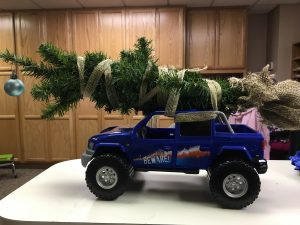 christmas tree decorating at orthopaedic specialists - Jeep Christmas Decorations