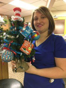 Dr Seuss Themed Christmas Tree