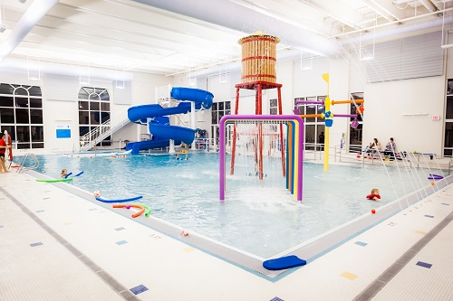 YMCA Norton Commons Swimming Pool for families