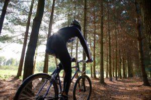 Louisville trail biker